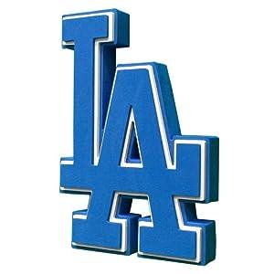 MLB Los Angeles Dodgers Fan Foam Logo Signs by Foamheads