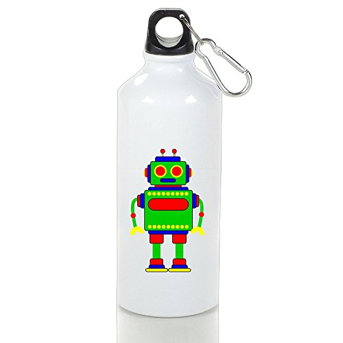 Robot Toy Clipart Aluminum Vacuum Insulated Sport Bottle White 500ml (Chevrolet Robot compare prices)