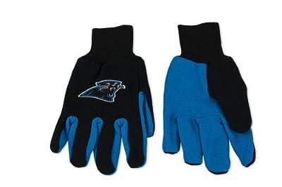 Carolina Panthers Two-Tone Gloves