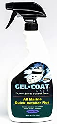Gel Coat Labs Marine & Boat Quick Detailer Prevents Stain Extended Coating 32 fl. oz.