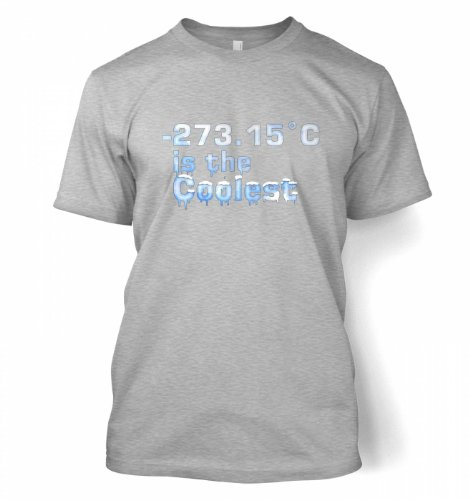 -273.15°C Is The Coolest T-shirt - Science Geek Shirt