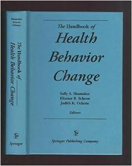 the handbook of health behaviour change