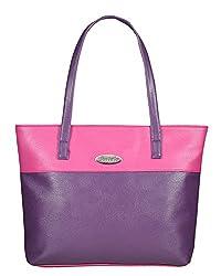 Fostelo Women's Susanne Shoulder Bag (Purple) (FSB-774)