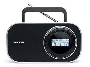 Blaupunkt BTD 7000 Radio Digitale Portable PLL avec FM (RDS)/MW Noir