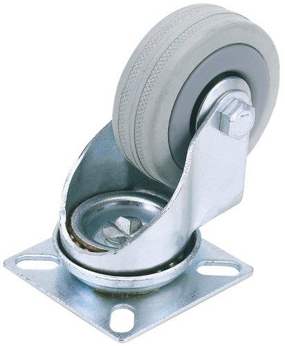 draper-65468-50-kg-50-mm-diameter-swl-swivel-plate-fixing-rubber-castor