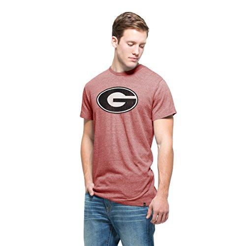 NCAA Georgia Bulldogs Men's '47 Tri-State Tee, Small, Lava Red (Youth Georgia Bulldog Shirts compare prices)