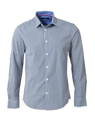 Jack & Jones Good Shirt - Blue - Mens
