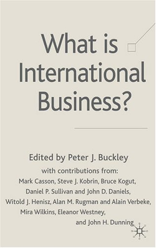 What Is International Business? front-611040