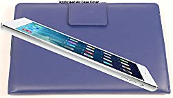 SVVM Case cover for Apple Ipad Air Synthetic Lather Case cover Magnetic Closer Model : SVVM002IPACBL (Blue)