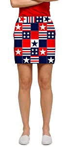 Betsy Ross Loudmouth Ladies Golf Skorts by Loudmouth Golf