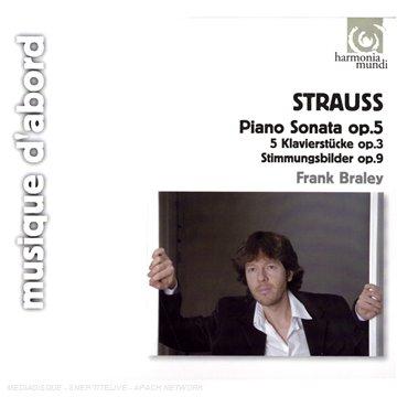 Richard Strauss  - Musique de chambre, piano 41TSDaUHICL
