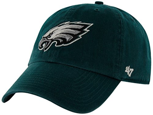 NFL Philadelphia Eagles Clean Up Adjustable Hat, Pacific Green, One Size Fits All Fits All