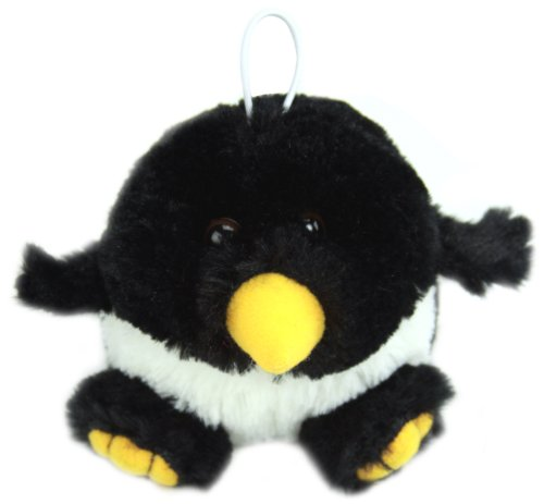 "Purr-Fection Ice Cube Cushy Critter Penguin 5"" Plush"