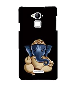 printtech Lord God Ganesha Back Case Cover for Coolpad Note 3