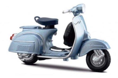 maisto-metallic-blue-150-super-1965-vespa-118-scale-diecast-model