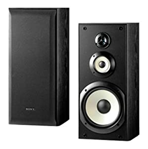 Sony SS-B3000 Bookshelf Speakers (Pair, Black)