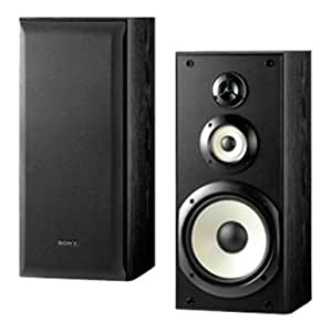 Sony SS-B3000 Bookshelf Speakers (Pair, Black)