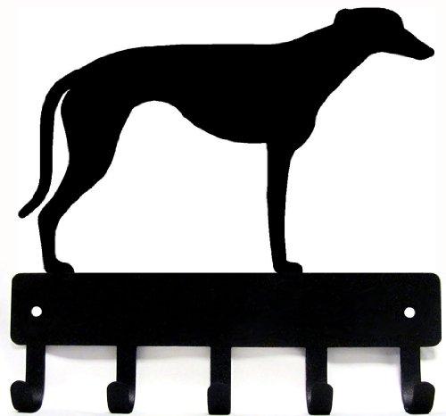 greyhound-key-rack-dog-leash-hanger-artisan-metal-shop-gifts-awards-large-9-inch-wide