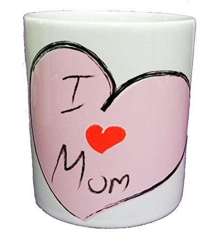 "I Love You Mum "", ideale come regalo per la festa della mamma"