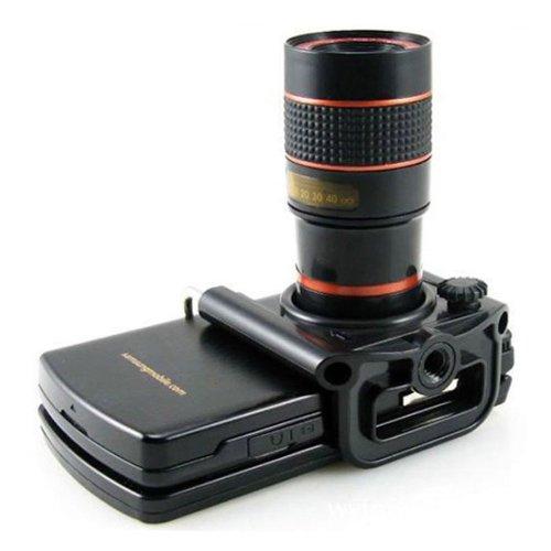 Tpt Universal Mini 8X Zoom Optical Lens Telescope For Iphone 5S Htc Camera