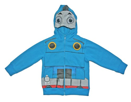 Thomas the Train Toddler Boys 2T-5T Costume Hoodie Jacket (2T)