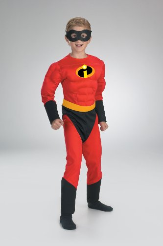 Mr Incredible Muscle Chest Child Costume 5385
