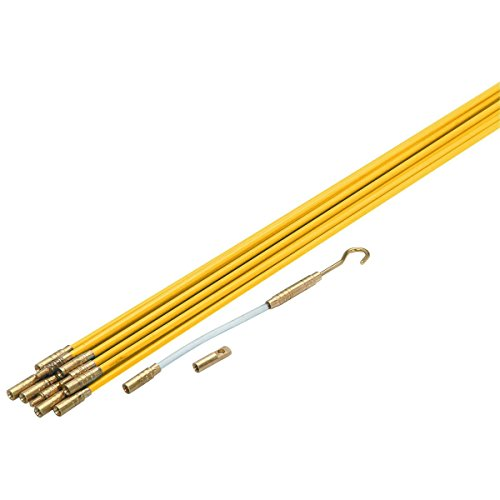 33 electric fiberglass wire pull rods fish tape outdoor