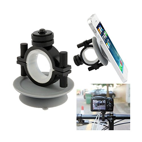 Bicycle Phone Camera Holder Cellphone Suction Sucker Multifunction