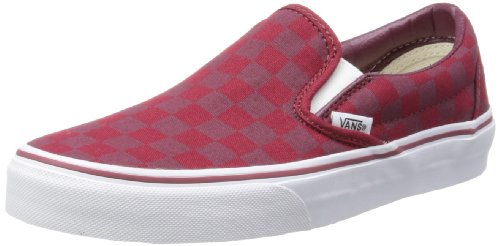 Vans Unisex-Adult Classic Slip-On Biking Red Checker Low-Top Trainers VUC48XL 7 UK, 40.5 EU, 8 US