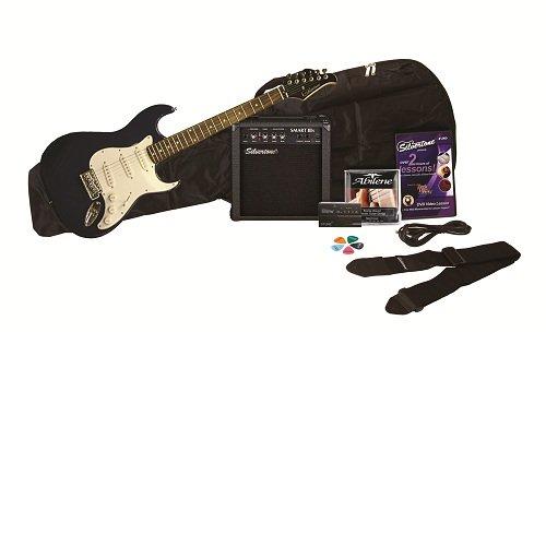 Silvertone SS11 Guitar & Amp Package, Cobalt Blue
