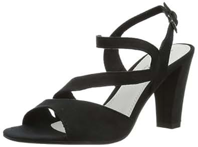 Marco Tozzi 2-2-28316-22, Sandales femme - Noir (001 Black), 39 EU