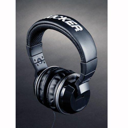 "Kicker ""Cush"" Urban Style Dj Headphones - Black"