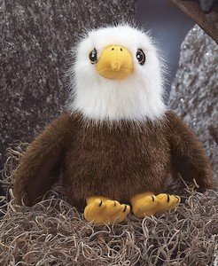 "Soar the Bald Eagle 8"" Plush Bearington - 1"
