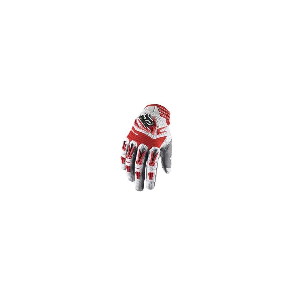 Fox Racing Pawtector Gloves   Large/White/Red