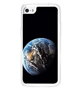Blue Earth 2D Hard Polycarbonate Designer Back Case Cover for Apple iPhone 5C