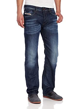 Diesel Men's Jeans WAYKEE Regular straight denim 0806U