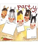 Alex Clark Pony Party Invites - 8 Pack