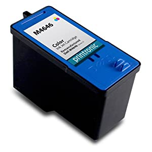 Printronic Remanufactured Ink Cartridge Replacement for Dell M4646 Series 5 (1 Color)