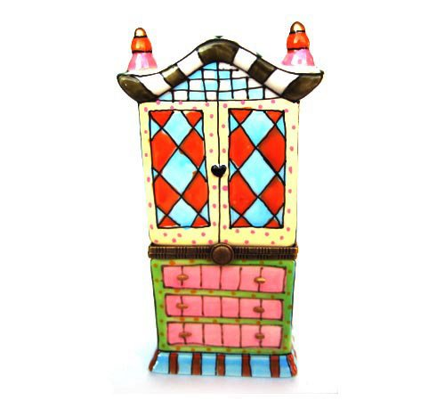 Bedroom Armoire Chest Trinket Box