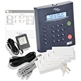 Icon Time RTC1000 2.5 Universal Employee Time Clock, 50 Employees, Ethernet, Internet, or USB
