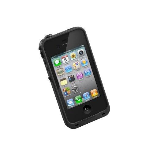 正規品LIFEPROOF au softbank iPhone4/4S用防水防塵耐衝撃ケース LifeProof Gen2 ブラック LPIPH4CS02BL
