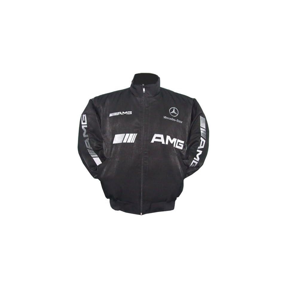 Mercedes benz amg racing jacket black on popscreen for Mercedes benz amg jacket