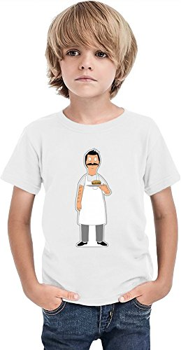 Bob's Burgers Bob Ragazzi T-shirt Stylish T-Shirt For Boys Fashion Fit Kids Printed Clothes By Genuine Fan Merchandise 8/9 yrs
