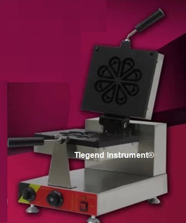 Tlegend Instrument® CR-RW Flower Shape Waffle Maker Machine Rotate Electric Waffle Toaster Ice Cream Waffle Baker (Flower Toaster compare prices)