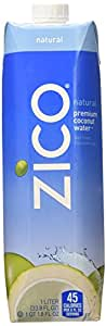 Zico Pure Premium Coconut Water, Natural, 33.8 Ounce (Pack of 6)