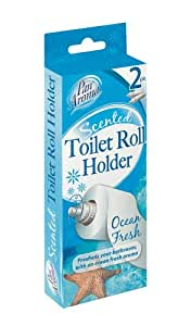 Pan aroma scented toilet roll holder ocean fresh 2pk - Scented toilet paper roll holder ...