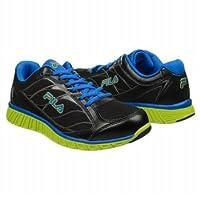 フィラ Athletics Fila Men's HYPER SPLIT Black Blue Lime 男性 メンズ 靴 シューズ 並行輸入
