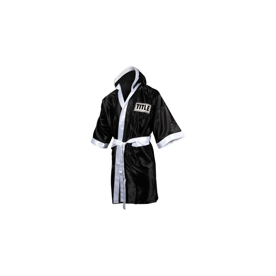 TITLE Boxing Full Length Stock Satin Robe on PopScreen 9f5e93021