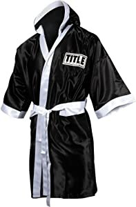 Buy TITLE Boxing Full Length Stock Satin Robe by Title Boxing