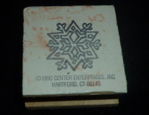 Snowflake Rubber Stamp - 1